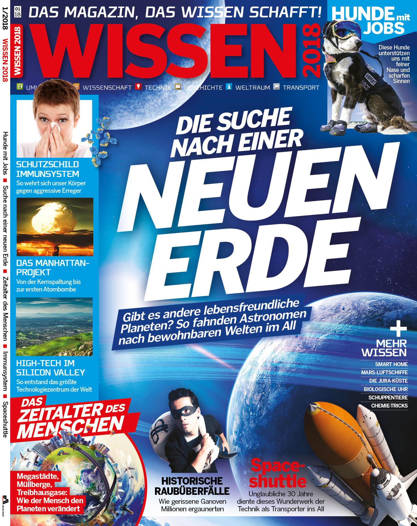 Titelseite WISSEN 1/2018