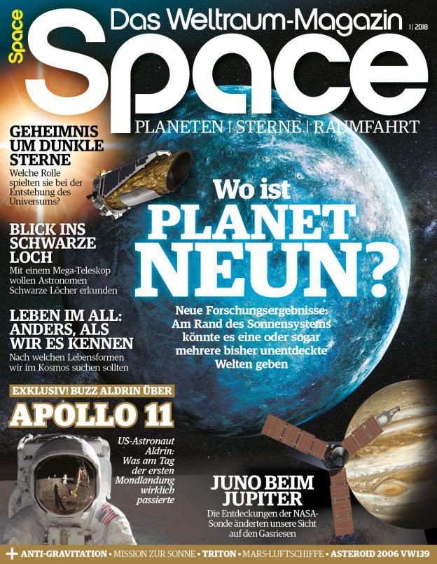 Space – Das Weltraum-Magazin 1/2018