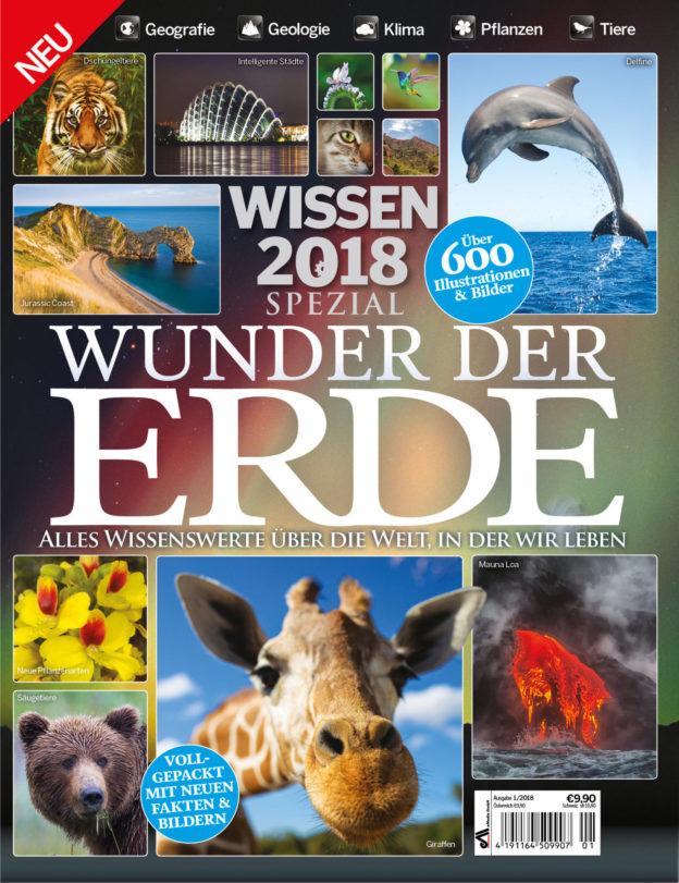 """WISSEN Spezial """"Wunder der Erde"""" 4. Ausgabe (1/2018)"""