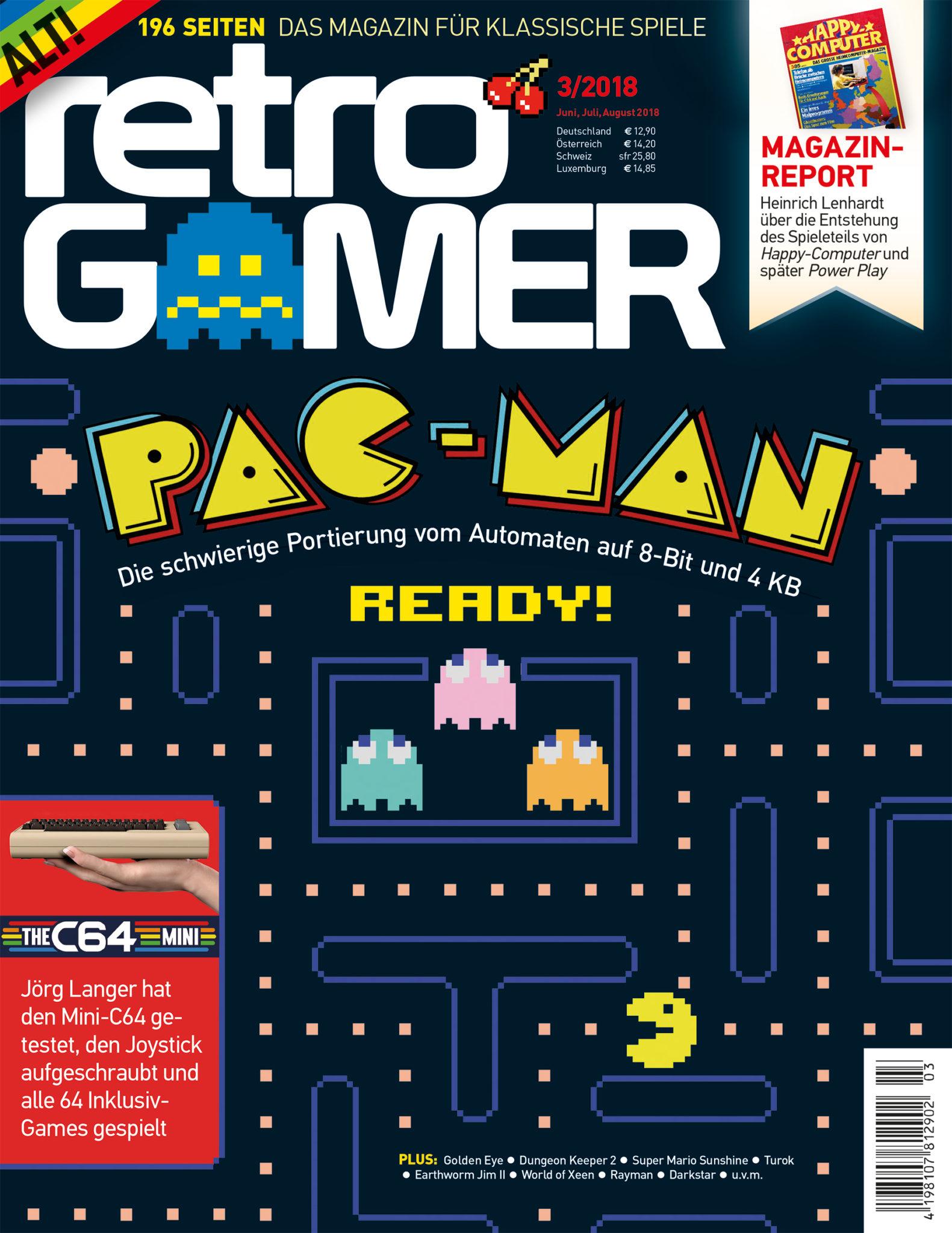 Retro Gamer 3/2018 Cover