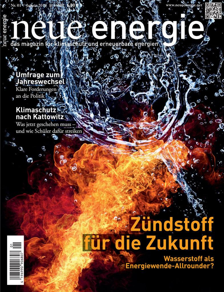 neue energie - Titelbild 01/2019